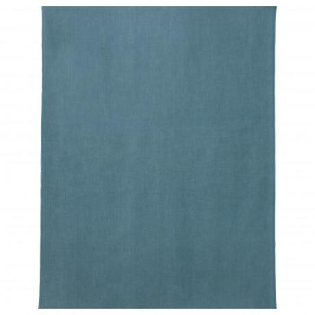 Ткань АЙНА сине-серый фото 0