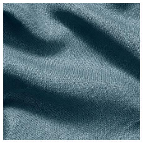 Ткань АЙНА сине-серый фото 1