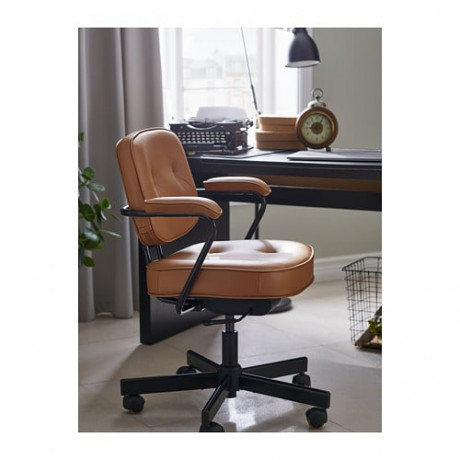 Рабочий стул АЛЕФЬЕЛЛЬ Гранн золотисто-коричневый фото 2