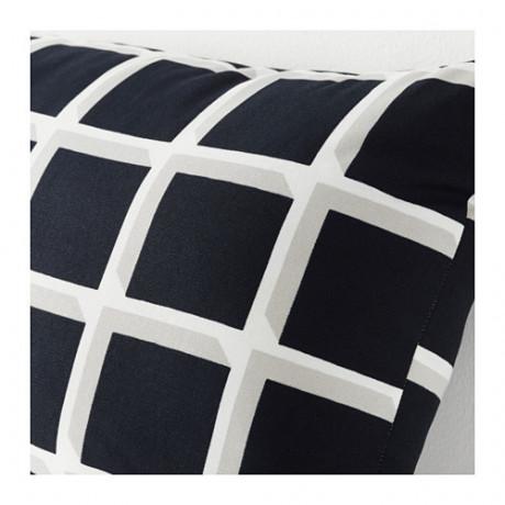 Подушка АВСИКТЛИГ черный/белый фото 1